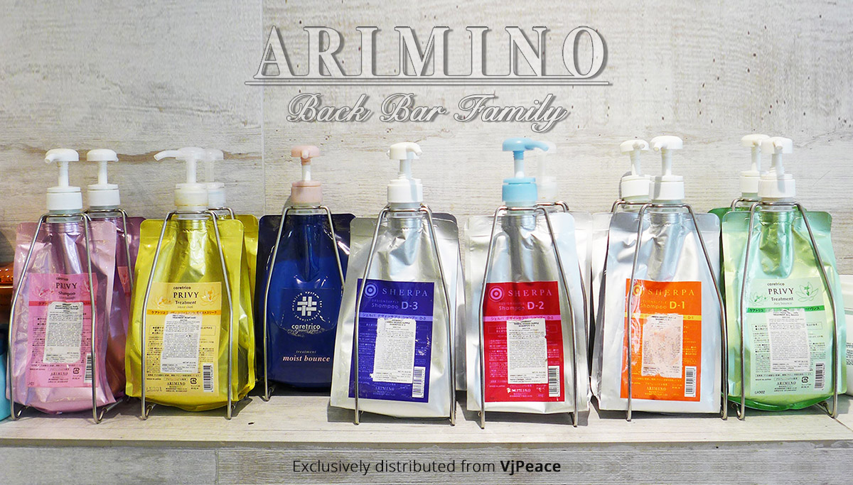 Arimino Back-Bar packages